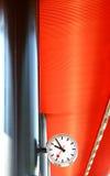 Borduhr Stockbild