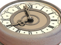 Borduhr. acht Uhr Lizenzfreies Stockbild