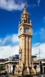 Borduhr Belfast-Albert Stockbild