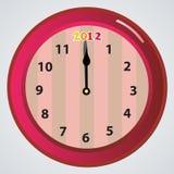 Borduhren 2012 Lizenzfreies Stockbild