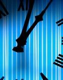 Borduhrgesicht mit Streifenmuster Stockbilder