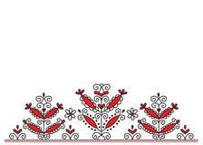 Borduurwerk royalty-vrije illustratie