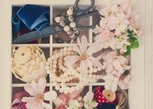 borduurwerk stock fotografie