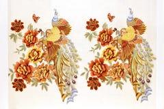 borduurwerk royalty-vrije stock afbeelding