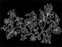 borduurwerk Royalty-vrije Stock Fotografie