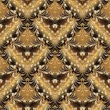 Borduurwerk kleurrijk bloemen naadloos patroon Tapijtwerk vectorbac Stock Afbeelding