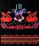 Borduurwerk, met de hand gemaakt volkskunsten en ambachten, stock foto