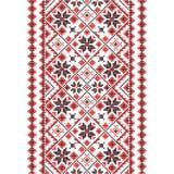 borduurwerk Oekraïens nationaal ornament Stock Afbeeldingen