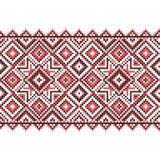 borduurwerk Oekraïens nationaal ornament Royalty-vrije Stock Afbeelding