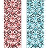 borduurwerk Oekraïens nationaal ornament Stock Foto's