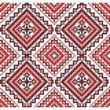 borduurwerk Oekraïens nationaal ornament Stock Fotografie