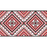borduurwerk Oekraïens nationaal ornament Stock Foto