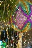 Borduurwerk op Ornament Royalty-vrije Stock Foto