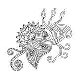borduurwerk patroon Royalty-vrije Stock Foto