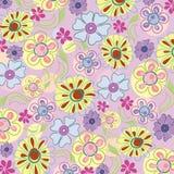 Borduurwerk van bloemen vector illustratie