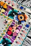Borduurwerk van een moulinedraad Royalty-vrije Stock Fotografie