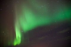 Borealis αυγής στη Νορβηγία Στοκ φωτογραφία με δικαίωμα ελεύθερης χρήσης