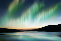 borealis αυγής Στοκ φωτογραφίες με δικαίωμα ελεύθερης χρήσης