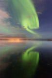 Borealis ΙΙ αυγής Στοκ εικόνα με δικαίωμα ελεύθερης χρήσης