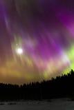 Luna mágica Fotografía de archivo libre de regalías