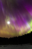 Lune magique Photographie stock libre de droits