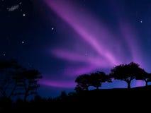 Borealis van de dageraad