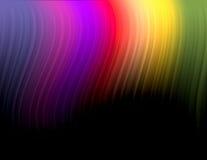 Borealis van de dageraad stock illustratie