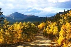 Boreas Pass In Autumn Stock Photo