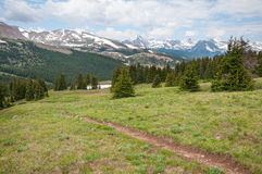 Boreas Pass Colorado Royalty Free Stock Image