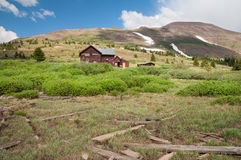 Boreas Pass Colorado stock photo