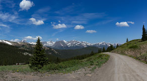 Boreas Pass Colorado Stock Image