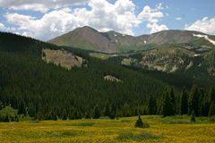 Boreas Pass Mountain View Stock Photo
