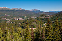 Boreas Pass Road Overlook Stock Photography