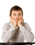 Bored boy Royalty Free Stock Photos
