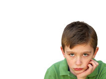 Bored boy Royalty Free Stock Images
