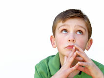 Bored boy Royalty Free Stock Image