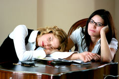 Bored business women Stock Photos