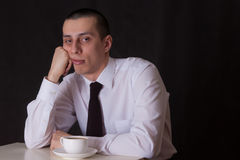 Bored businessman Stock Photos