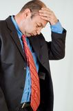 Bored businessman  Stock Photos