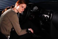 A Bored Car Driver Stock Photos