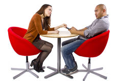 Bored Date Royalty Free Stock Photo