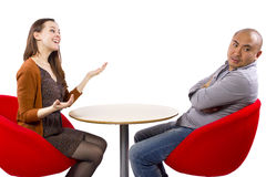 Bored Date Stock Photography