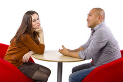 Bored Date Royalty Free Stock Photography
