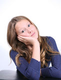 Bored Expression Stock Image