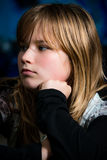 Bored girl Royalty Free Stock Photography
