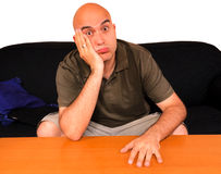 Bored guy Stock Photography