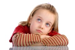 Bored kid 1 Stock Photo