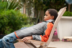 Bored Kid Royalty Free Stock Photo