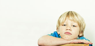 Bored kid Stock Images