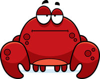 Bored Little Crab Royalty Free Stock Images